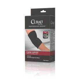 SUPPORT,ELBOW,SLEEVE,W/STRP,RETAIL,LG,EA