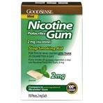 NICOTINE GUM,2MG,MINT,110/BX,110 EA/BX