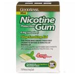 NICOTINE GUM,4MG,MINT,110/BX,110 EA/BX