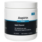 ASPIRIN POWDER 1LB JAR, APPLE FLAVOR