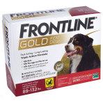 OTC,FRONTLINE GOLD 89-132 LB, 6 PACK