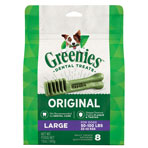 GREENIES DENTAL CHEW LARGE SIZE, 8-PACK