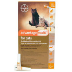 RXV ADVANTAGE MULTI 5.1-9lbs SMALL CAT ORANGE 6 MTH