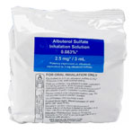Albuterol Inhalation Solution 0.83 PERCENT, 25x3