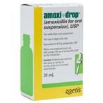RXV, ZOETIS, AMOXICILLIN DROPS 50mg/ml 30ml VET