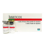 RXV BI IMMITICIDE,5 VIALS/BOX