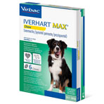 RX IVERHART MAX MEDIUM, VIRBAC SOFT CHEW,(25.1-50LBS),6 MONTH