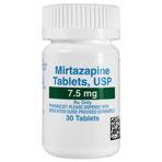 RX MIRTAZAPINE 7.5MG 30 TABLETS