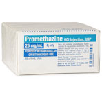 RX PROMETHAZINE INJ 25MG/ML 25X1ML
