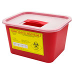 SHARPS CONTAINER 1 GALLON, EA