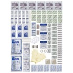 KIT,REFILL,FIRST AID,INDIVIDUAL,165 PIECES
