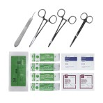 KIT, SUTURE, W/1 SUTURE, 13-PC/EA
