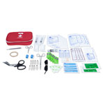 KIT,FIRST AID WOUND CARE,W/2 SUTURE,75-PC,EACH