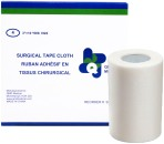 "TAPE, SURGICAL, CLOTH, 3""x10YDS, 4/BOX"