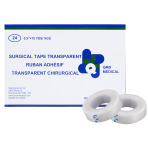 "TAPE, TRANSPARENT, SURGICAL, 1/2""x10YDS, 24/BOX"