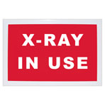 SIGN, X-RAY ROOM, ENGLISH, BLACK