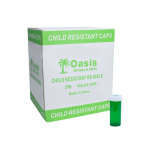 VIAL,16 DRAM,GREEN,SAFE/CAP, 270/CS
