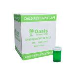 VIAL,20 DRAM,GREEN,SAFE/CAP, 360/CS