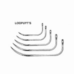 LOOPUYT'S SUTURE NEEDLES SIZE 3, 12/PK