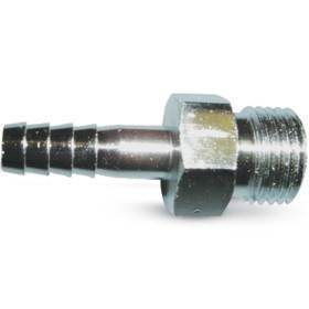 Oxygen Connector,Diss male fitting w/barbed end