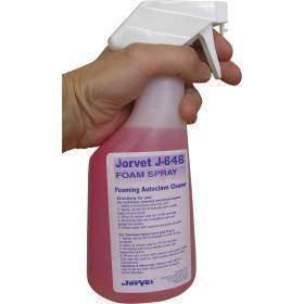 Spray, foaming autoclave cleaner 22 oz.pump