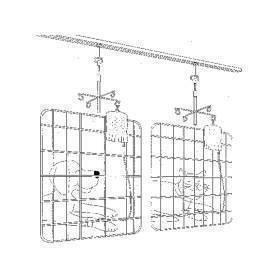 IV, mobile holder, complete track system