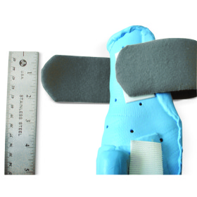 "Splint, pressured material strap, 2"" x 36"" w/12"" hook patch"