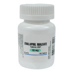 Enalapril Maleate 10mg, 100 tablets