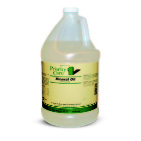 Priority Care Mineral Oil, 95 Viscosity, Gallon