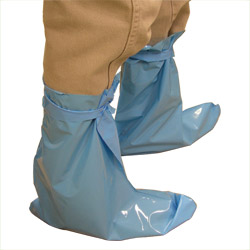 Disposable Plastic Boots, 50 pack