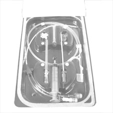 IV catheter, central venous, 5.5fr x13cm triple lum.