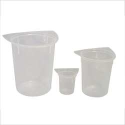Beaker, 3 corner, 400ml, 10 pack