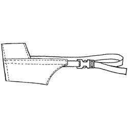 Muzzle,Nylon dog muzzle, set of 10