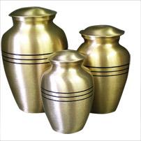 Urn,Classic bronze medium