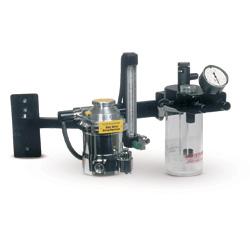 Anes. Machine,Wallmount anes mach. w/arm & Tech V vap.
