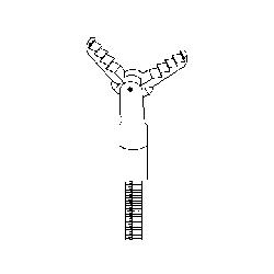 Endoscope Alligator serrated grasp fcp 1.8mm x120cm