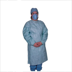 Gown, disposable surgery, sterile,x-large