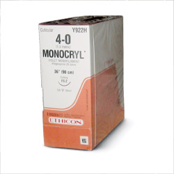 Monocryl Suture 0 CT-2 36/bx