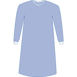 GOWN,SURGICAL,STERILE W/TOWEL,XXX-LARGE,18/CASE