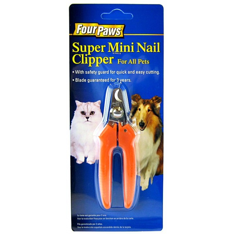 Super Mini Nail Clipper with Safety Bar