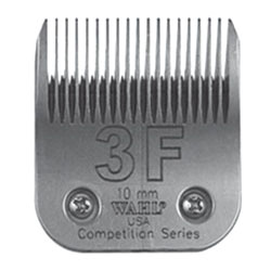 Clipper Blades #3 Full, Extra coarse, cut length of 10mm
