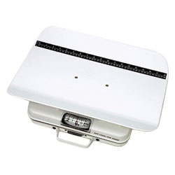 Portable Mechanical Pediatric Scale, reads in lbs., 50 lb capacity