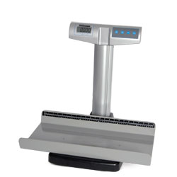 Digital Pediatric Tray Scale, 50 lb. capacity