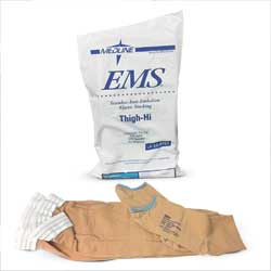 Stocking, Anti-embolism, thigh-hi, medium, regular, 6 pair/bx