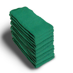"TOWEL,O.R.,GREEN,16""X26"",COTTON,DOZEN"