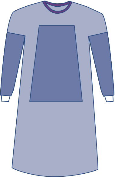 GOWN,SURGICAL,STERILE W/TOWEL,X-LARGE,30/CASE