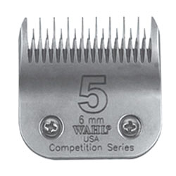 Clipper Blades #5 Full, coarse, cut length of 6mm