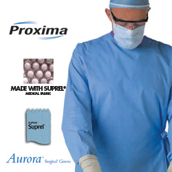 GOWN,SURGICAL,STERILE W/TOWEL,XX-LARGE,18/CASE