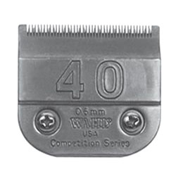 Clipper Blades #40 Surgical, cut length of .6mm