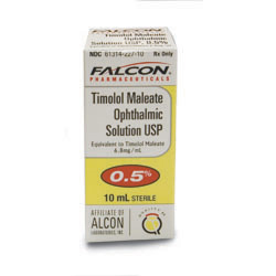 Timolol Maleate Ophthalmic Solution 0.5%, 10ml